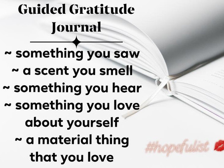Getting your gratitude journal started