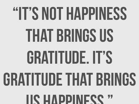 Gratitude - behaviors to adopt