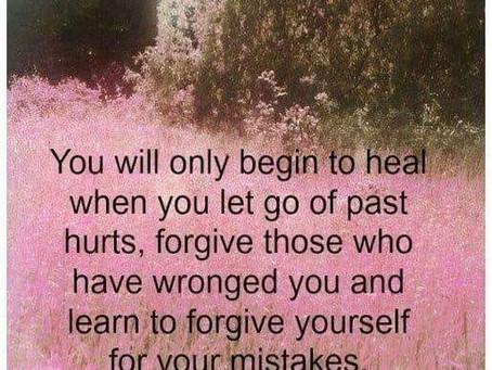 Forgiveness - behaviors to adopt