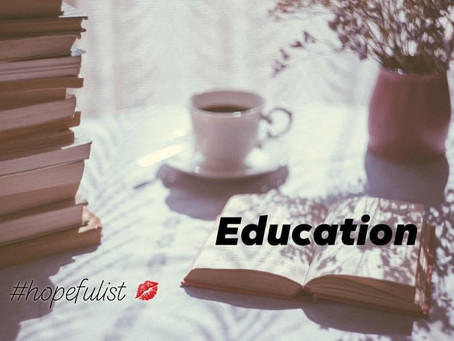 Educate your way to inspiration!