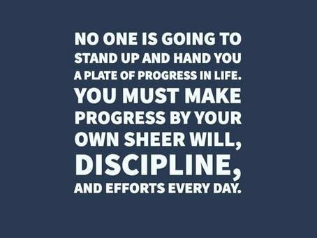 Get disciplined!