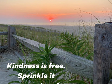 Kindness...it's easy and rewarding!