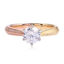 Diamond Ring in 2-Tone