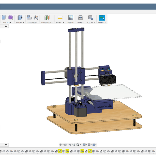 Persona 3D Printer CAD