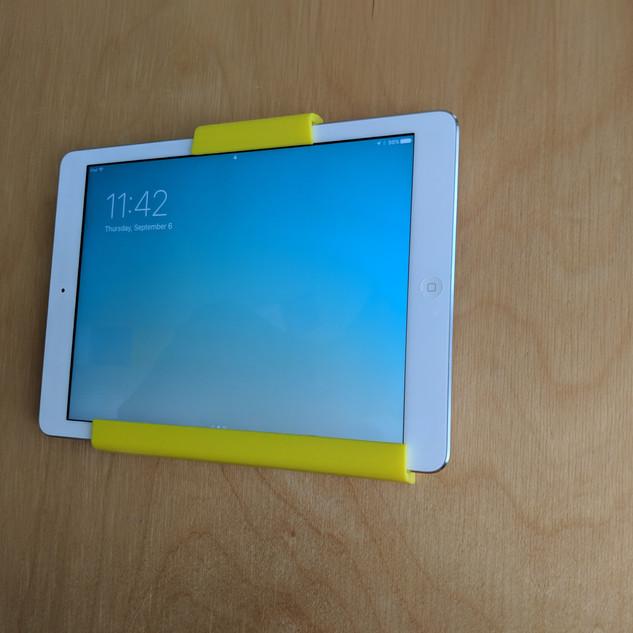 iPad Holder on Wall
