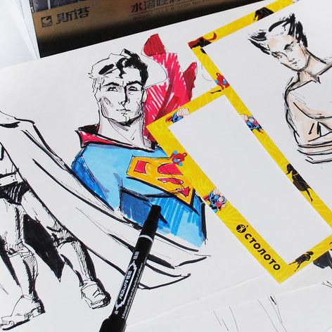 Comics sketch