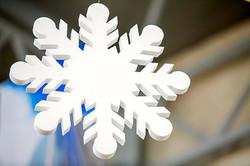 художник-на-мероприятие-снежинка