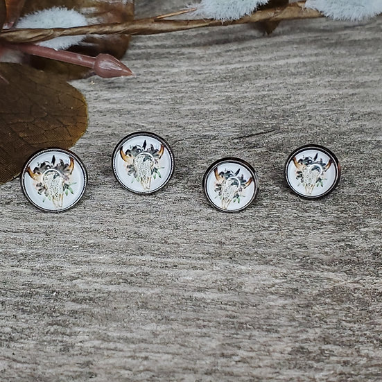 Lace Skull 10mm and 12mm