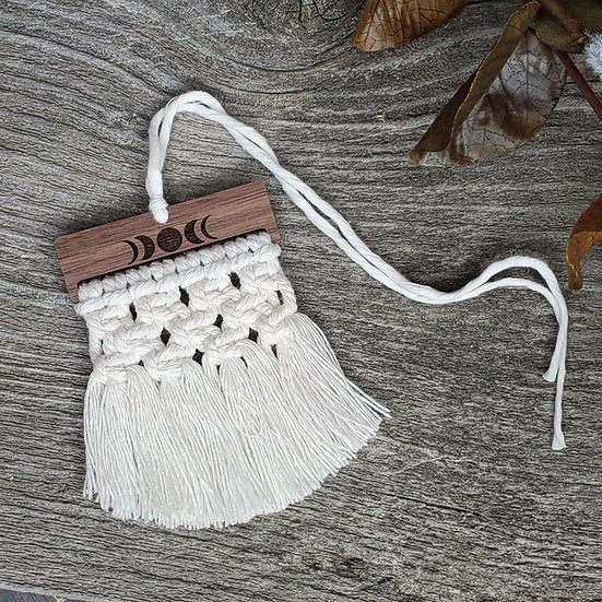 Knotted Moon Macrame Diffuser