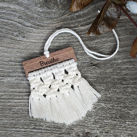 Knotted Breath Macrame Diffuser