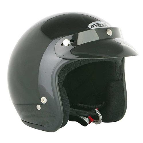 Spada Openface Helmets Gloss Black