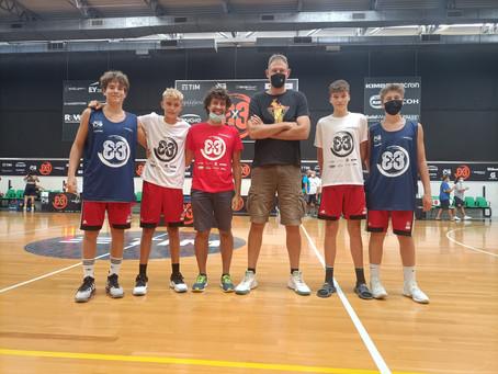 FINALI 3X3 FIBA: UNDER 14 FRA LE PRIME OTTO D'ITALIA!