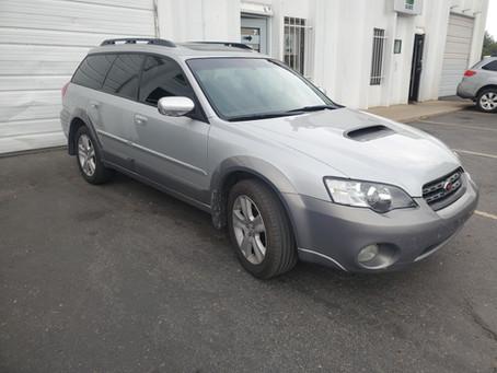 2005 Subaru Outback XT 2.5L Silver 183k Automatic