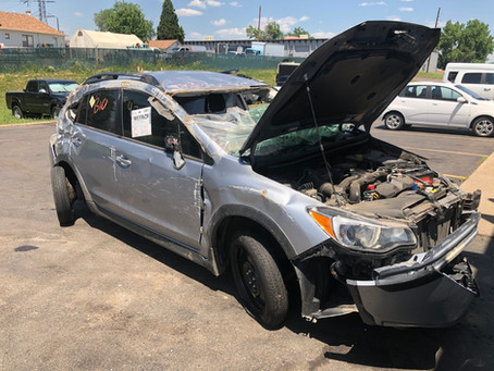 2016 Subaru Crosstrek XV 2.0L 97k CVT Silver