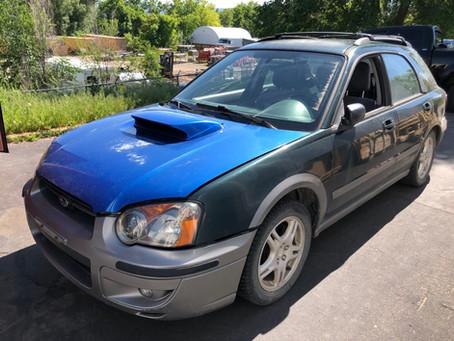 2004 Subaru Impreza WRX Wagon 163k A/T Green