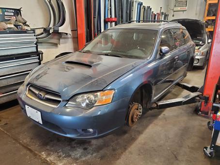 2005 Subaru Legacy GT wagon 2.5L Blue 161k Automatic