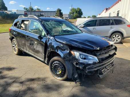 2017 Subaru Outback 3.6L Black 66k CVT transmission