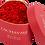 Thumbnail: Coffret de roses rouges éternelles Valentine