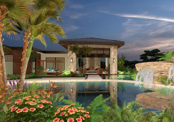 Modern Tropical Residence
