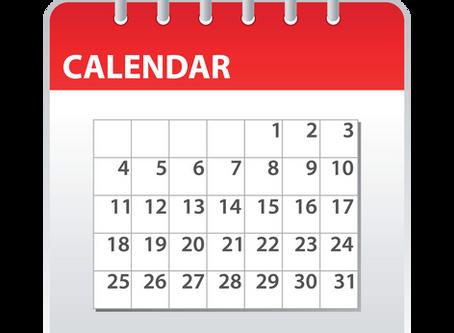 School Calendar available in multiple formats