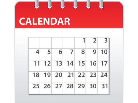 School Calendar available in multiple formats
