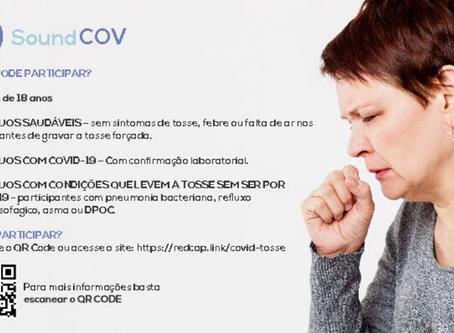 'SoundCov': sistema de IA busca auxiliar no diagnóstico da COVID-19 por tosse