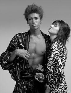 directedbyozi,fashion,editorial,ファッション,雑誌,kimono,rokubuen,モデル,岩田漢,Yukatamix