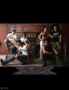directedbyozi,fashion,editorial,ファッション,雑誌,音楽,かっこいい,バンド,アーティスト写真,hideout