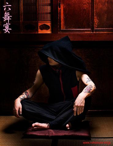 六舞宴,Rokuben,ninja,samurai,kimono,cosplay,sweatshirt,hoodie,cool,streetfashin