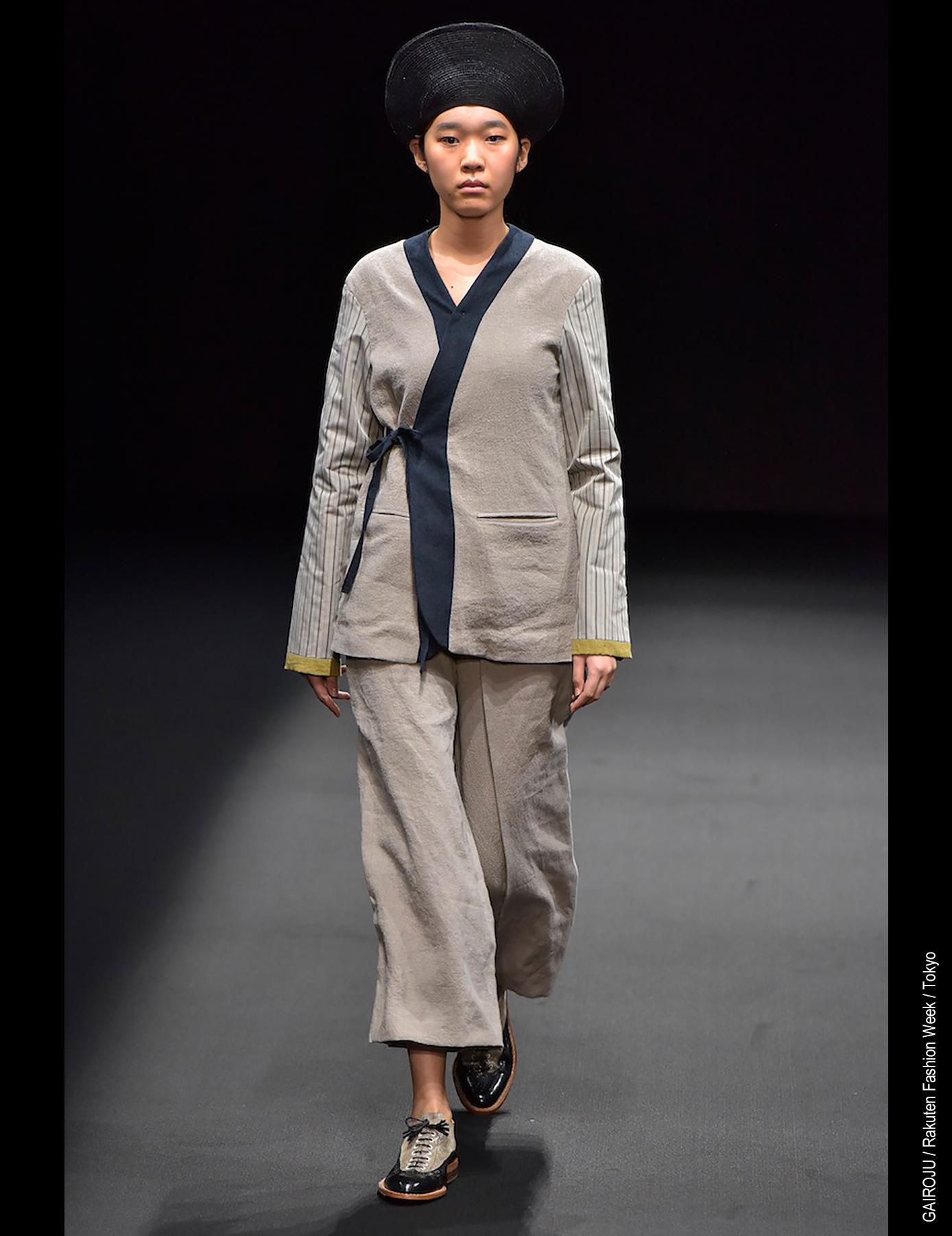 Rakuten Fashion Week Gairoju Chiharu