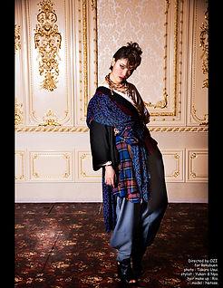 六舞宴,種,collection,fashionweek,rokubuen,ninja,samurai,kimono,fashion,show