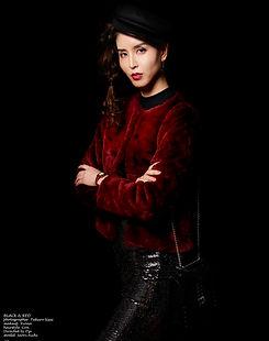 ミセス,愛知沙織,blackandred,黒と赤,directedbyozi,daisukea,モデルを学ぶ,ファッション,モデル,レッスン
