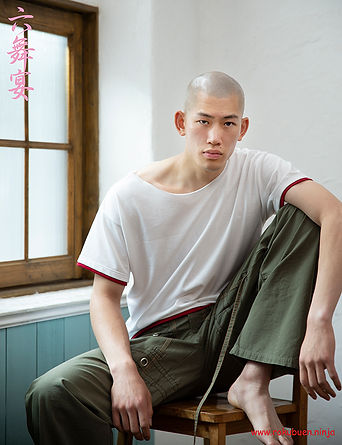 model,ryota,asian,top,japanese,skinhead,fashion,directedbyozi,六舞宴,rokubuen