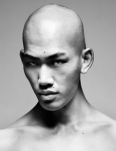 model,ryota,asian,top,japanese,skinhead,fashion,directedbyozi,beauty,seikonishigori