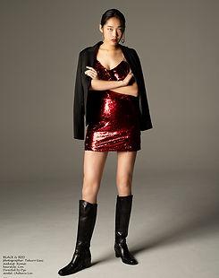chiharulin,林田千春,blackandred,黒と赤,directedbyozi,daisukea,モデルを学ぶ,ファッション,モデル,海外