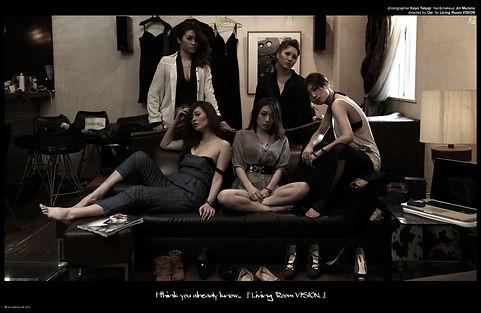 directedbyozi,fashion,editorial,ファッション,雑誌,広告,かっこいい,カラオケバー,livingroom,vision