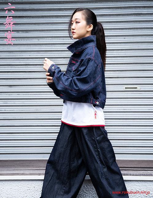 Denim Jacket of short length / 着丈の短いGジャン