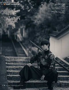 Hayato,pump,magazine,editorial,モデルのワークショップ,制作,directedbyozi,fashion,model,production