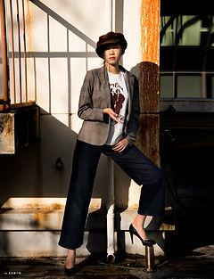 人気,新人,ファッション,モデル,fashion,chiharulin,asian,model,top,広告