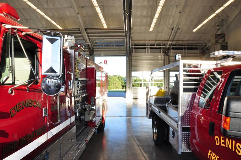 dennison-fire-station-interior-trucks