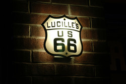 lucilles-route-66-sign