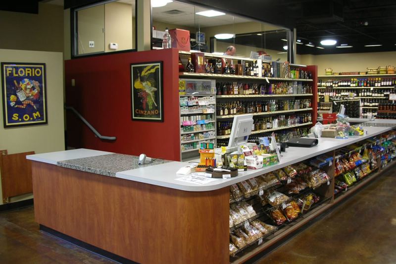 majestic-beer-wine-spirits-counter