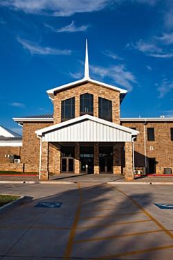 emmanuel-baptist-entrance-weatherfor-oklahoma-md