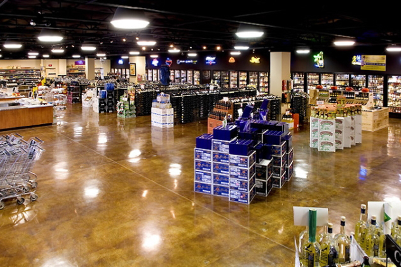 majestic-beer-wine-spirits-floor-overview
