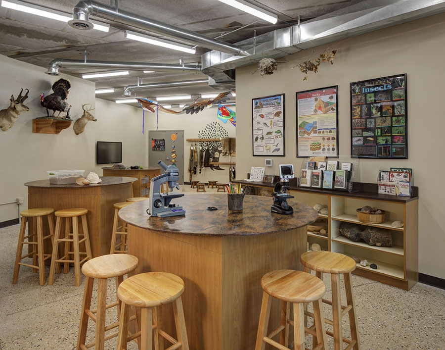 NUSH Nature Center - Lab