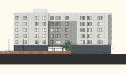 Broadway Apartment Elevation