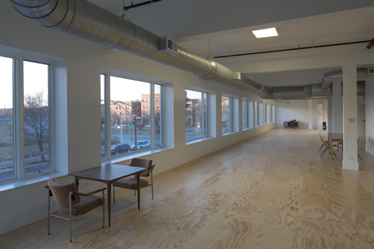 U of Chicago Arts Incubator Interior