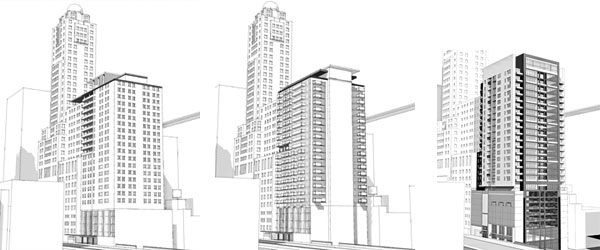 160 Ave East - Sketch