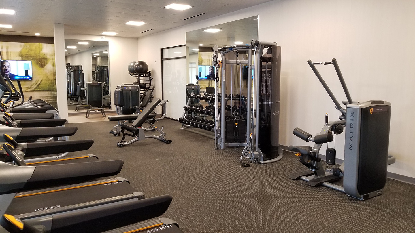 Marriott Courtyard Fitness Center