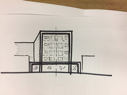 Broadway Apartment - Sketch